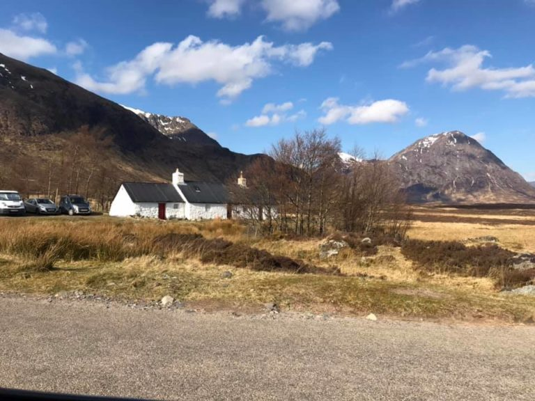 Blackrock Cottage April meet, Glencoe