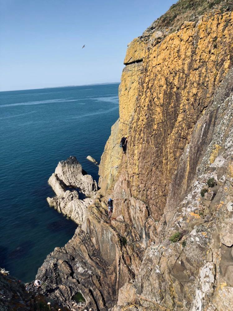 Galloway sea-cliff climbing meet, July 17-19